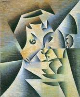 Portrait of the mother of the artist by Juan Gris
