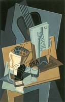 Sheet of Music by Juan Gris