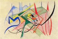 Small mythical creatures by Franz Marc