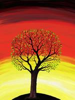 Sunset tree3