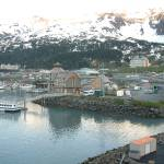 """Town of Whittier, Alaska"" by Mick553"