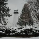 """CONCORD POINT LIGHTHOUSE IN WINTER"" by Mick553"