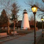 """CONCORD POINT LIGHTHOUSE & LAMPOST"" by Mick553"