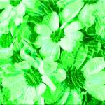 """Green Floral Abstract"" by Sari_McNamee"