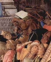 Adoration of the kings, detail3