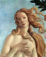 birth of the Venus, detail