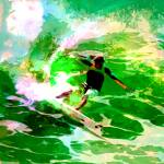 """Green Surfer by Donovan"" by Donovan2012"