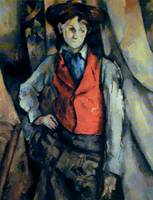 Boy with red vest