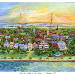 """""""From the Ashley to the Cooper, Charleston SC"""" by debereves"""