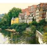 """Sycamore  avenue ¦ river Neckar ¦ hand skippered b"" by eagle1effi"