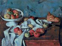 Fruit Dish and Apples