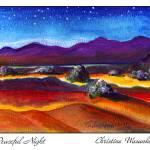 """""""Peaceful Night"""" by wasankari"""