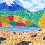 """mountain range"" by AireenDeviani"