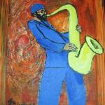 """jazz sax"" by groovepainter"