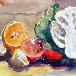 """""""Still Life of Fruit and Veg"""" by AnnTuck"""