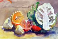 Still Life of Fruit and Veg