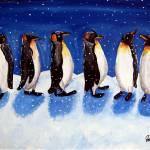 """""""Penguin Party"""" by reniebritenbucher"""