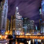 """Chicago Night"" by bryanscott"