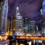 """Chicago Night"" by bryanscott"