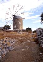 Windmill on Crete
