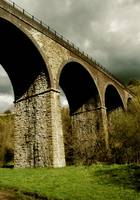 Viaduct at Monsal Dale