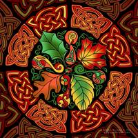 Celtic Autumn Leaves