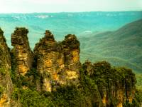 my first hdr - three sisters