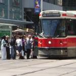 """Toronto - Streetcar at Yonge and Dundas"" by Rixard"