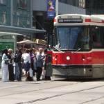 """""""Toronto - Streetcar at Yonge and Dundas"""" by Rixard"""