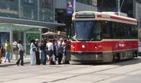 Toronto - Streetcar at Yonge and Dundas