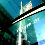 """Toronto - Transit shelter at Yonge and Carlton"" by Rixard"