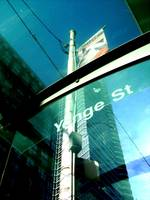 Toronto - Transit shelter at Yonge and Carlton