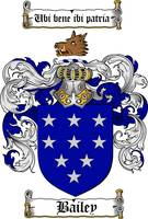 bailey family crest bailey coat of arms