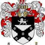 """baker family crest baker coat of arms"" by coatofarms"