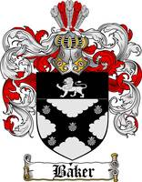 baker family crest baker coat of arms