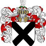 """baldwin family crest baldwin coat of arms"" by coatofarms"