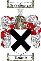 baldwin family crest baldwin coat of arms