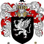 """ballard family crest ballard coat of arms"" by coatofarms"