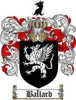 ballard family crest ballard coat of arms