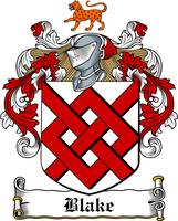 blake family crest blake coat of arms