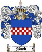 boyd family crest boyd coat of arms