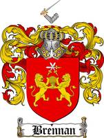 brennan family crest brennan coat of arms