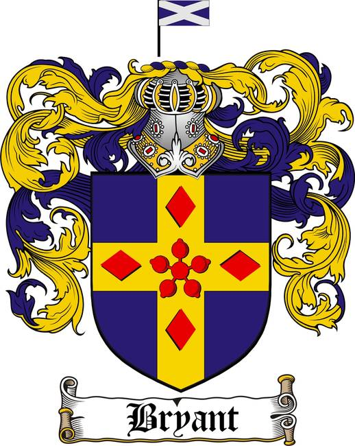 Bryant Family Crest Bryant Coat Of Arms By Family Crest