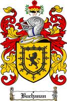 buchanan family crest buchanan coat of arms