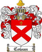 COWAN FAMILY CREST -  COWAN COAT OF ARMS