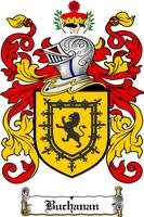 BUCHANAN FAMILY CREST - COAT OF ARMS
