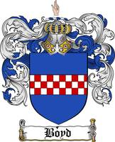 BOYD FAMILY CREST - COAT OF ARMS
