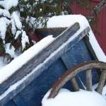"""Snow Covered Wagon"" by crazysuncompany"