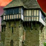 """Sunset Stokesay Castle"" by kenart"