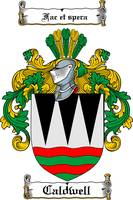CALDWELL FAMILY CREST - COAT OF ARMS